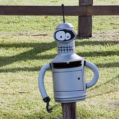 Enjoy with these Crazy and Weird Funny Mailbox Pictures. The use of Mailbox is very common, so with . Funny Mailboxes, Unique Mailboxes, Smosh, Metal Mailbox, You've Got Mail, Going Postal, Welding Art, Blow Your Mind, Outdoor Life