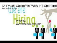 (0-1 year) Capgemini Walk-In | Chartered Accountants | 9 January 2015 | Mumbai