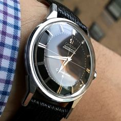 Vintage OMEGA Constellation Piepan Chronometer In Stainless Steel Circa 1960s - https://omegaforums.net Omega Constellation Chronometer Piepan Constellationpiepan Omegaconstellation Piepanconstellation Vintage Menswear Mensfashion Wristshot Womw Wruw Horology Classic Timeless Watches Watchporn Fashion Montres Uhren Orologio Cal551 Calibre551