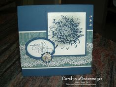 Carolyn's Card Creations: April 2013