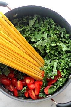 Kale and Feta One-Pot Pasta