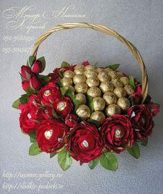 Gallery.ru / Фото #64 - Корзины с цветами и конфетами 400-1000 грн. - monier: