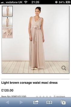 Front of debenhams maxi dress