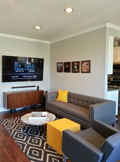 Gus* Modern | Can you tell this condo dweller is a Gus* Modern fan : gus atwood sectional - Sectionals, Sofas & Couches