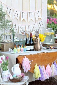 Plan a gorgeous Easter Brunch with these ideas for decorations, menu and more.