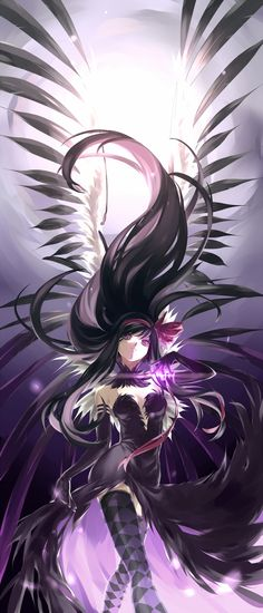 Does this remind anybody else of Khrae from Princess Tutu? Of course Homura is still better though.