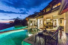 This Dominical estate is one of the most iconic properties in the South Pacific of Costa Rica. World class views and luxurious amenities in the tropics.