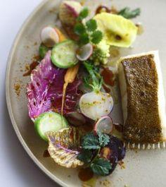 Dos de barbue / légumes des jardins / curry-citron vert - Brill / garden vegetables / curry-lime ©Rina Nurra