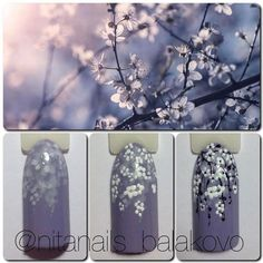 Heat Up Your Life with Some Stunning Summer Nail Art Floral Nail Art, Arte Floral, Spring Nails, Summer Nails, Trendy Nails, Cute Nails, Nailart, Gel Nails French, Red Nail Designs