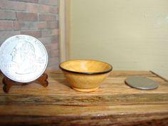 "Dollhouse Miniature 1:12 Cookware & Tableware Bowl Handcrafted ""Oppi"" OOAK #A11 #HandcraftedMiniaturesbyOppi"