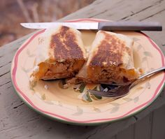 Repurposed Leftovers: Grilled Burritos | TramplingroseTramplingrose