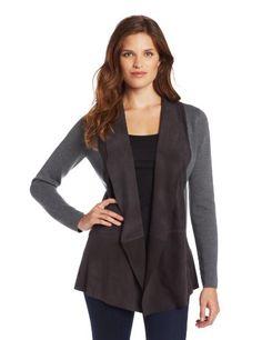 ELIE TAHARI Women's Marsha Mix Sweater Cardi, Asphalt, Medium ELIE TAHARI,http://smile.amazon.com/dp/B00DMWLBZQ/ref=cm_sw_r_pi_dp_z8FXsb08BHC06PW0