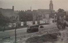 Jamaica Road Bermondsey South East London England from Spenlow House in 1950's