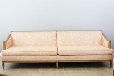 Natty by Design: A vintage sofa.