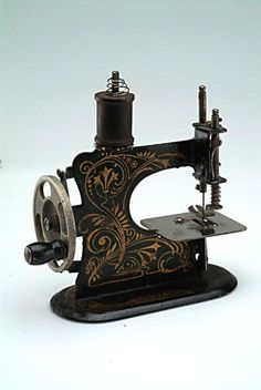 German toy sewing machine