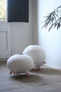 Funny, disruptive vases