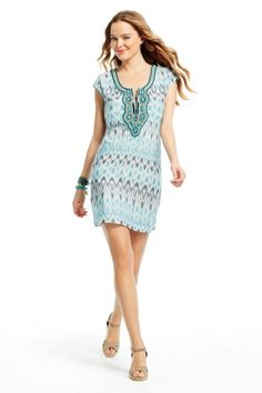 Delora Ikat Dress