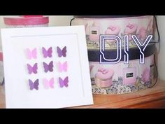 DIY Papercraft Butterflies - Perfect Mothers Day Gift!
