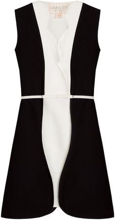 Giambattista Valli Two-Tone Dress