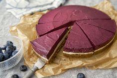 Blåbärs- och citroncheesecake