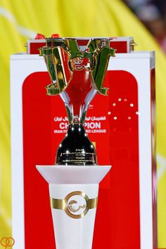 "Iran Football Pro League ""PERSIAN GULF CUP ""  Designe by Farshad Farhad - Sepideh Valiahdi"