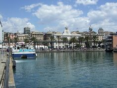 Porto Antico in Genoa, #Italy #port #beautifulplaces  ✈✈✈ Don't miss your chance to win a Free Roundtrip Ticket to Genoa, Italy from anywhere in the world **GIVEAWAY** ✈✈✈ https://thedecisionmoment.com/free-roundtrip-tickets-to-europe-italy-genoa/