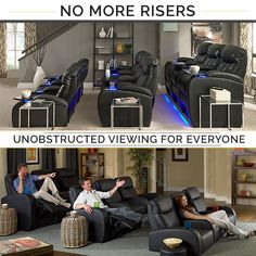 No Stairs Steps Risers Just Great Home Theater Here Visit Our Seatcraft Product Line To See Many Of Their Innovative Seat Designs That Earned Them