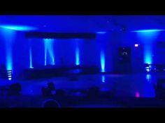 Popular Wedding Reception Uplighting Colors - Pittsburgh DJ Pifemaster - YouTube