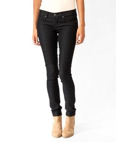 Curvy Fit Jeans   Forever21   $10.80