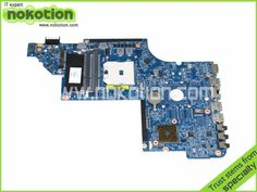 61.20$  Watch now - http://aliijb.worldwells.pw/go.php?t=32280482246 - 650852-001 For Hp DV6 DV6-6000 Laptop Motherboard AMD DDR3 Socket fs1 high quanlity Tested