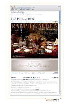 Brand: Ralph Lauren | Subject: Happy Thanksgiving From Ralph Lauren