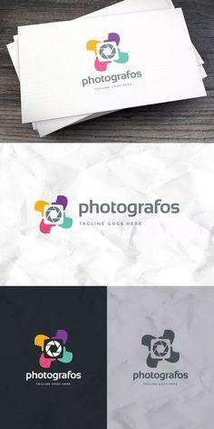 Photografos Logo Template AI, EPS