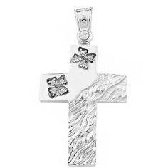 Σταυροί: ΣΤ/ΚΤΑ702 -Χρυσός βαπτιστικός σταυρός 14Κ Symbols, Letters, Art, Art Background, Icons, Letter, Kunst, Fonts, Glyphs