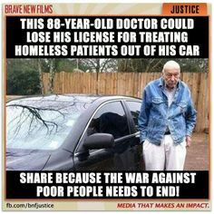 The gentleman  took  an oath to heal the sick it didn't say  if the sick are poor or rich