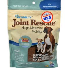 Ark Naturals Sea Mobility Joint Rescue Lamb Jerky - 9 oz
