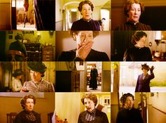 "3/18/14 2:49a  ""Downton Abbey""  Montage of Mrs. Elsie Hughes  slayground.tumblr.com"