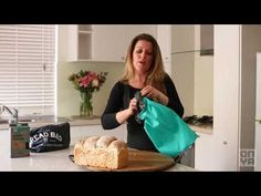 Our reusable Bread Bag is designed to replace single use paper or plastic bread bags, plastic toggles and ties. Made from recycled plastic drink bottles.