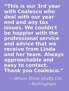 Another happy client for Coalesco