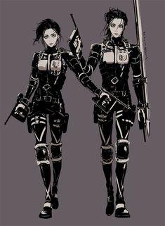 This is just so nice ❤️ Mikasa & Eren Armin, Eren E Levi, Eren X Mikasa, Attack On Titan Fanart, Attack On Titan Eren, Attack On Titan Ships, Fanarts Anime, Anime Characters, Female Eren