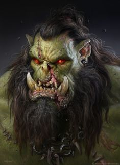 ArtStation - The Art of Warcraft Film - DarkScar , Wei Wang Warcraft Film, Warcraft Orc, Warcraft Characters, Gothic Fantasy Art, Fantasy Dragon, Medieval Fantasy, Final Fantasy, Larp, Orc Warrior