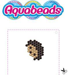 Réalise le fils #Hérisson des #SylvanianFamilies avec les perles #Aquabeads