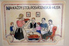 Aa School, School Clubs, European Countries, Czech Republic, The Past, Retro, Winter, Illustration, Pictures