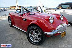 Frog Eye, Austin Healey Sprite, Mk 1, Havana Cuba, Hot Cars, Cars And Motorcycles, Dream Cars, Antique Cars, Garage