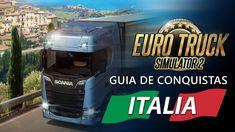 Guia de Conquistas para Euro Truck Simulator 2 – DLC Italia