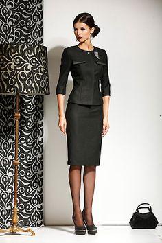 Commanding attention!!! Skirt suits, uniforms, amazing dresses...