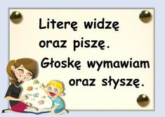 głoski Learn Polish, Polish Language, Kids And Parenting, Activities For Kids, Diy And Crafts, Kindergarten, Preschool, Study, Classroom