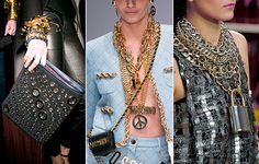 Chain necklaces and bracelets