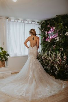 Available Colors: Ivory/Nude/Nude (pictured) Ivory/Ivory/Nude, Ivory/Sand/Nude Bridal Collection, Fashion Forward, Bloom, Ivory, Nude, Wedding Dresses, Colors, Design, In Trend