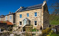 At first glance, this is a traditional Dales cottage. In fact, Phil and Joy Newbold have constructed their home using cutting-edge building science and materials Dormer Windows, Casement Windows, Contemporary Architecture, Architecture Design, Uk Housing, Georgian Style Homes, Clad Home, Traditional Style Homes, Timber Frame Homes