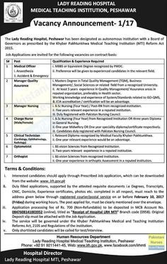 Head Nurses And Charge Nurses Jobs At University Of Sargodha